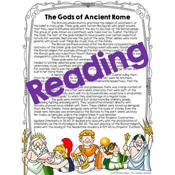 Ancient Rome Gods & Goddesses