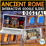 Ancient Rome Google Classroom Distance Learning |  Rome Go