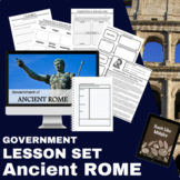 Ancient Rome Government Lesson