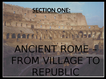 Ancient Rome Guided Notes - Journey Across Time