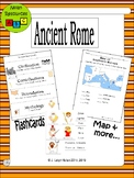 Ancient Rome History Packet