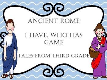 Ancient Rome I Have Who Has Follower Freebie