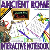 Ancient Rome Interactive Notebook Bundle | Ancient Rome Ac