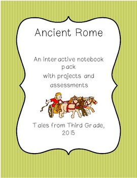 Ancient Rome Interactive Notebook