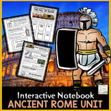 Ancient Rome Distance Learning Interactive Notebook Google Classroom