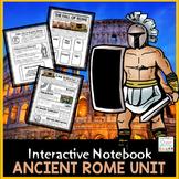 Ancient Rome Interactive Notebook   Roman Empire   Roman R