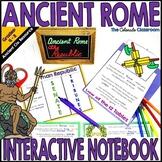Ancient Rome Interactive Notebook Bundle   Ancient Rome Ac