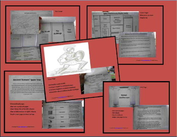 Ancient Rome: Interactive Notebook & More (2nd - 4th Grades)