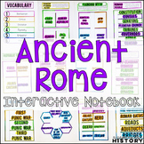 Ancient Rome Interactive Notebook and Graphic Organizers Ancient World History
