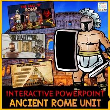 Ancient Rome Interactive PowerPoint