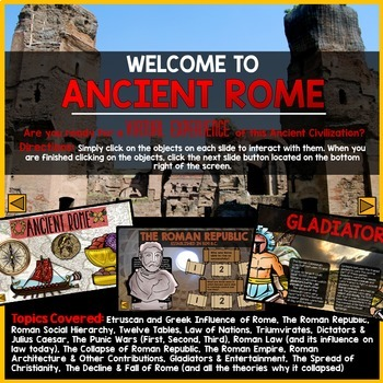 Ancient Rome PowerPoint Interactive