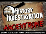 Ancient Rome Investigation History Lesson Stations or Pres