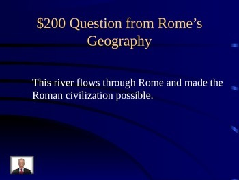 Ancient Rome Jeopardy
