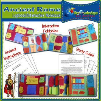 Ancient Rome Lapbook