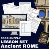 Ancient Rome Food Supply Lesson