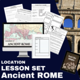 Ancient Rome Location and Geography Lesson