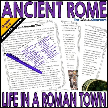 Ancient Rome: Life in a Roman Town