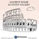 Ancient Rome Activity Packet