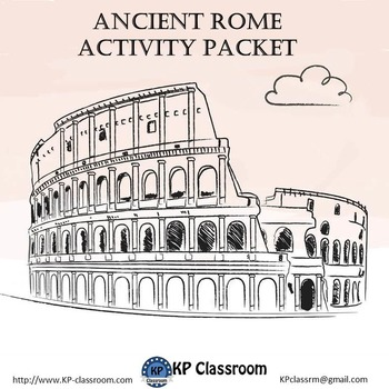 Ancient Rome Activity Packet by KP Classroom | Teachers Pay Teachers