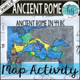 Ancient Rome to 44 BCE Map Activity (Print and Digital)