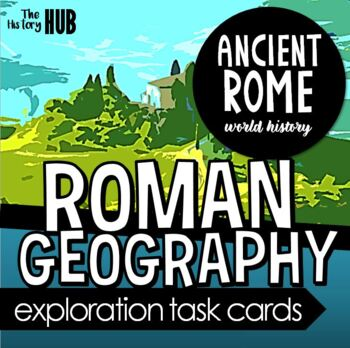 Ancient Rome - Mapping and Geography lesson plan
