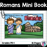 Ancient Rome Mini Book for Early Readers - Ancient Civilizations Activities