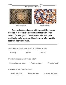 Ancient Rome: Mosaics