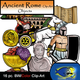 Ancient Rome Objects (16 BW & Color)