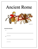 Ancient Rome Packet Front Page