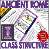 Ancient Rome Social Class Structure Activity | Digital and