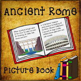 Ancient Rome Picture Book Activity