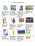 Ancient Rome Picture Dictionary for the ESL Classroom
