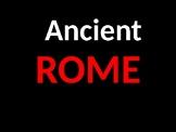 Ancient Rome Power Point Presentation