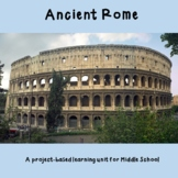 Ancient Rome- Project Based Learning Unit for Five Groups