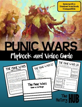 Ancient Rome - Punic Wars Flipbook lesson plan