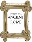 Ancient Rome Quizzes Va SOL 3.1, 3.4, 3.7, 3.8, 3.9