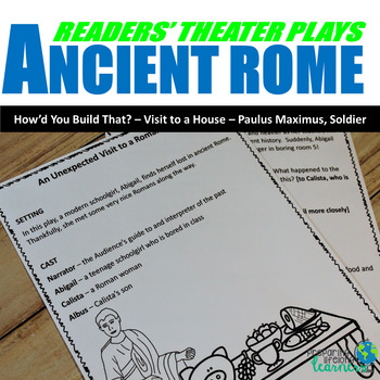 Ancient Rome Reader's Theater Plays (With Leveled Parts)