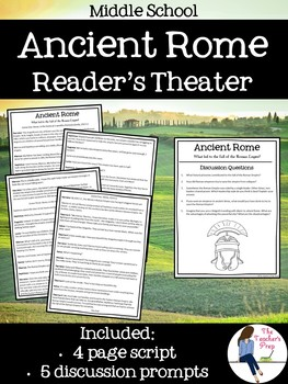 Ancient Rome Reader's Theater Skit