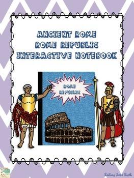 Ancient Rome Republic - Interactive Notebook Activity