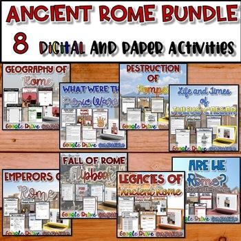 Ancient Rome Resource Bundle