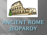 Ancient Rome Review Game - Jeopardy Style