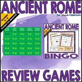 Ancient Rome Review Games
