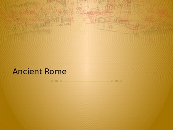 Ancient Rome Review PowerPoint