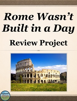Ancient Rome Review Project