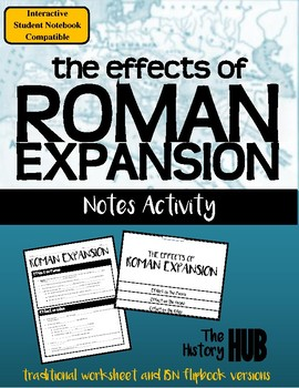 Ancient Rome - Roman Expansion lesson plan