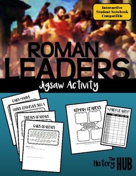 Roman Leaders Jigsaw (Ancient Rome Lesson Plan)