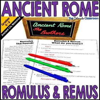 Ancient Rome Romulus & Remus