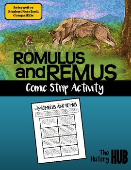 Ancient Rome - Romulus and Remus lesson plan