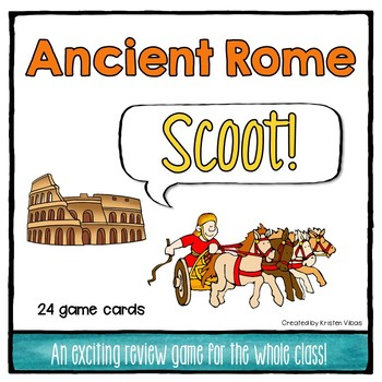 """Ancient Rome """"SCOOT!"""""""