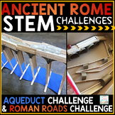 Ancient Rome Activities STEM Challenges | Roman Aqueduct R